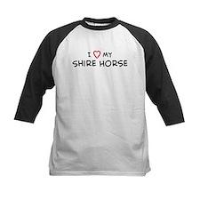 I Love Shire Horse Tee