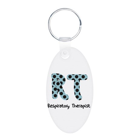 Respiratory Therapy 2011 Aluminum Oval Keychain