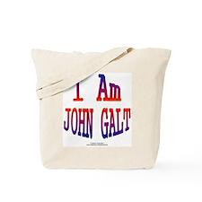 John Galt rd Tote Bag