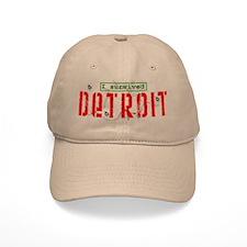 I Survived Detroit - Baseball Cap