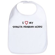 I Love Shagya Arabian Horse Bib