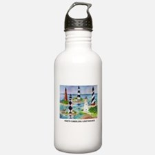 NC Light houses Water Bottle