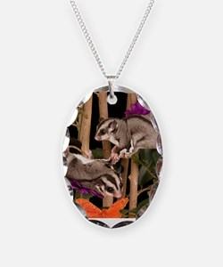 2 Gliders in Tree #2 Necklace