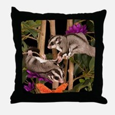 2 Gliders in Tree #2 Throw Pillow