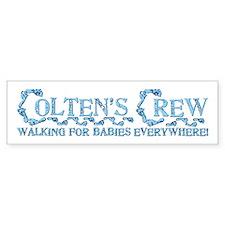 COLTEN'S CREW Bumper Sticker