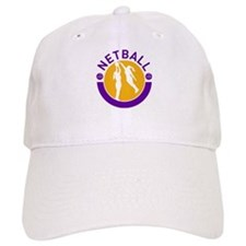 netball player shooting Baseball Cap