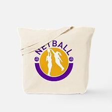 netball player shooting Tote Bag