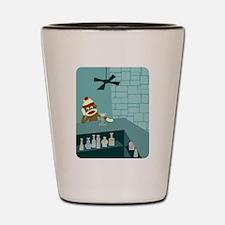 Sock Monkey Martini Bar Shot Glass
