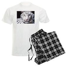 White Bengal Tiger Pajamas