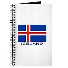 Icelandic Flag (labeled) Journal