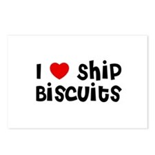 I * Ship Biscuits Postcards (Package of 8)