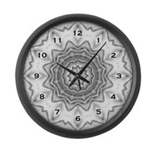 Shattered Time - Fine Art Large Wall Clock