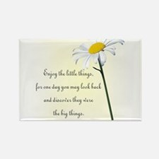 Funny Daisies Rectangle Magnet