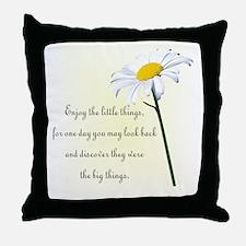 Cute Daisies Throw Pillow