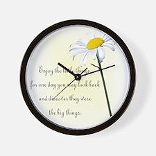 Cute Daisy Wall Clock