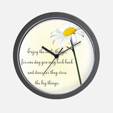 Cool Encouragement Wall Clock