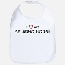 I Love Salerno Horse Bib