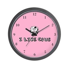 I Like Cows Wall Clock
