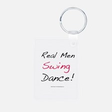 Real Men Swing Dance Keychains