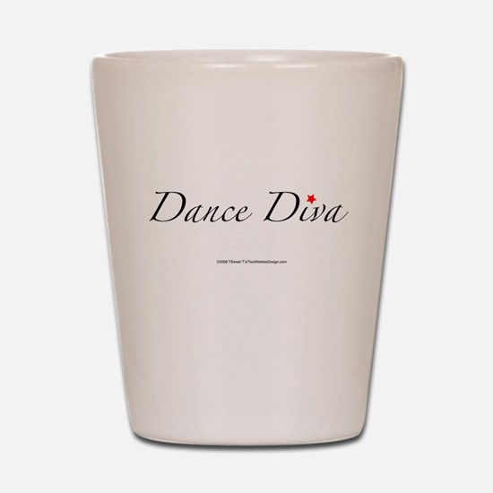 Dance Diva Shot Glass
