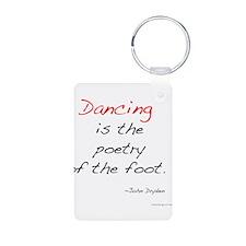 Dryden on Dance Aluminum Photo Keychain