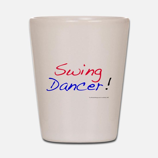 All Swing Dances Shot Glass