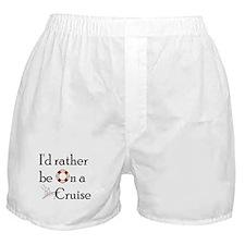 I'd Rather Cruise Boxer Shorts