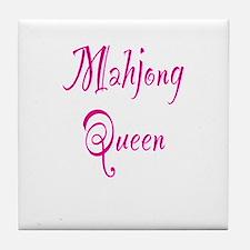Mahjong Queen Tile Coaster