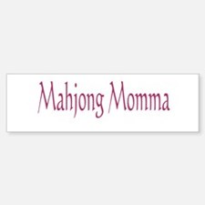 Mahjong Momma Bumper Bumper Sticker