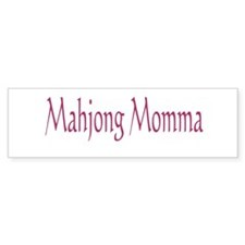 Mahjong Momma Bumper Sticker