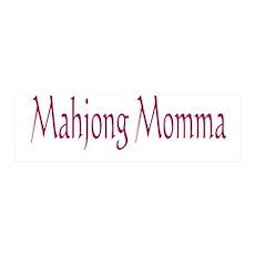 Mahjong Momma 42x14 Wall Peel