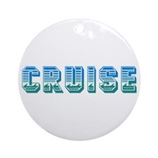 Cruise Ornament (Round)