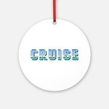 Cruise Ornament (Round)