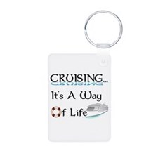 Cruising... A Way of Life Keychains