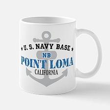 US Navy Point Loma Base Mug