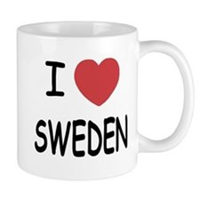 I heart Sweden Small Mug