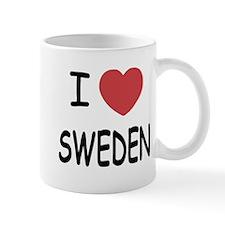 I heart Sweden Small Small Mug