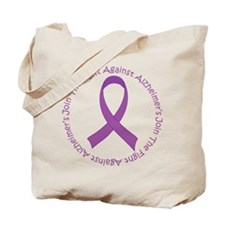 Fight Against Alzheimers Tote Bag