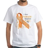 Leukemia disease month Mens White T-shirts