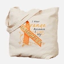 I Wear Orange Because I Love My Daughter Tote Bag