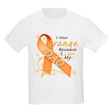 I Wear Orange Because I Love My Dad T-Shirt