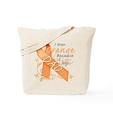 I Wear Orange Because I Love My Dad Tote Bag