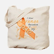 I Wear Orange Because I Love My Dad Tote Bag