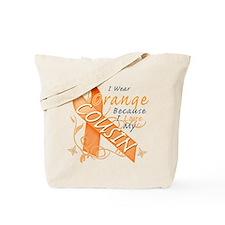 I Wear Orange Because I Love My Cousin Tote Bag