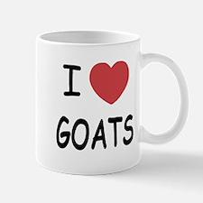 I heart goats Mug