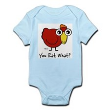 You Eat What Chicken? Infant Creeper