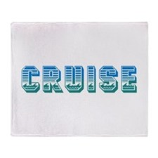 Cruise Throw Blanket