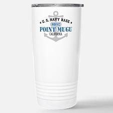 US Navy Point Mugu Base Travel Mug