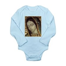 Our Lady of Guadalupe Long Sleeve Infant Bodysuit
