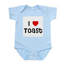 I * Toast Infant Creeper